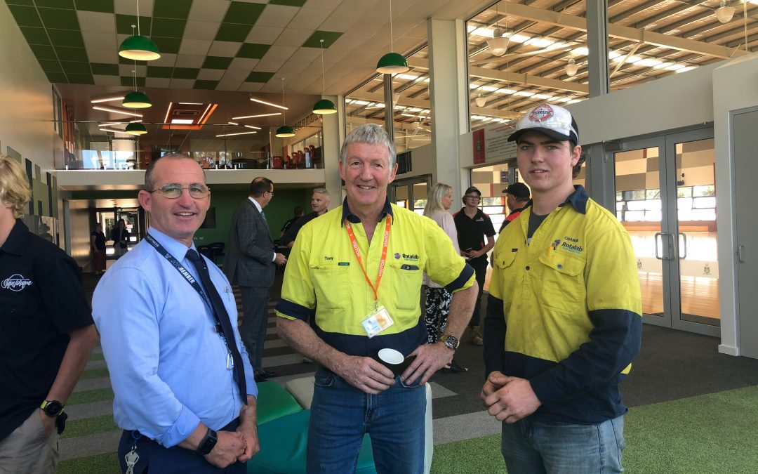 Gippsland Grammar welcomes support for apprentices